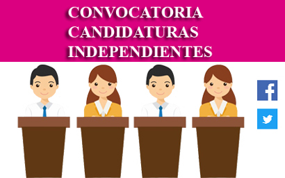 Convocatoria para Candidaturas Independientes